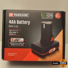 Parkside Batterij 12V 4Ah Nieuw in doos