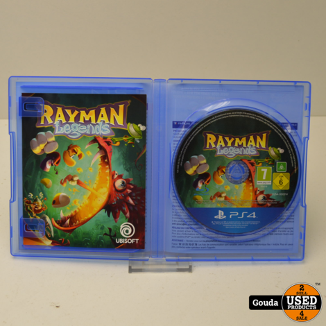 Playstation 4 game Rayman Legends