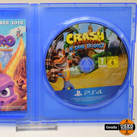 Playstation 4 game Crash Bandicoot N'sane Trilogy