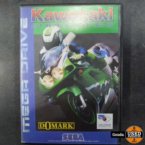 Sega mega drive game Kawasaki superbikes