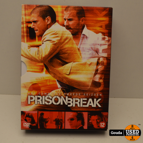DVD Box Prison Break Seizoen 2