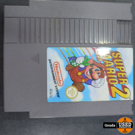 Nintendo nes game Super Mario Bros 2