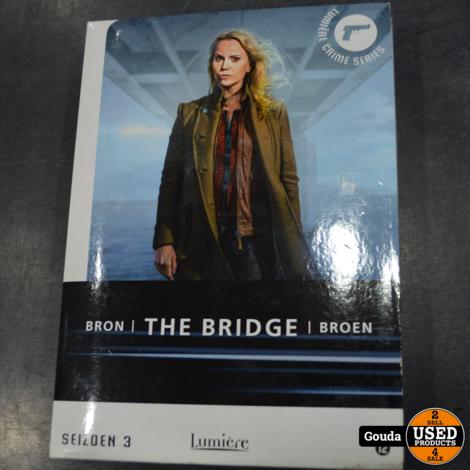 Dvd box The bridge seizoen 3