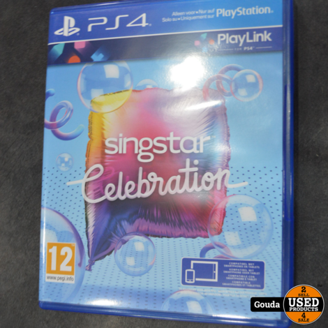 Ps4 game Singstar celebration