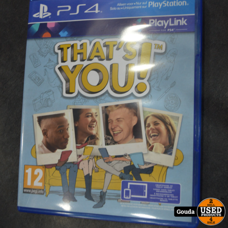 Ps4 game Thats you
