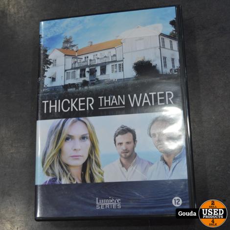Dvd box Thicker than water