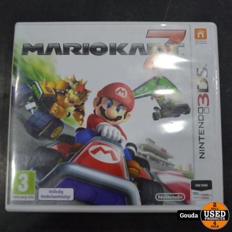 Nintendo 3DS game Mario kart 7