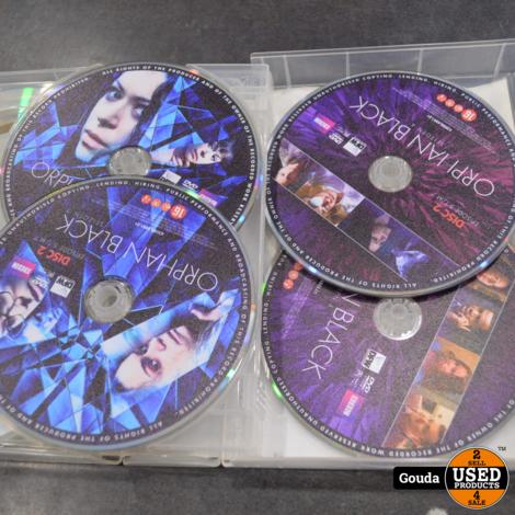 Dvd box Orphan Black seizoen 1-4