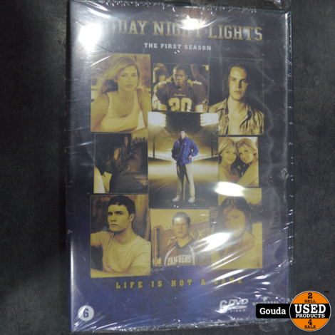 Dvd box Friday night Lights Nieuw in seal