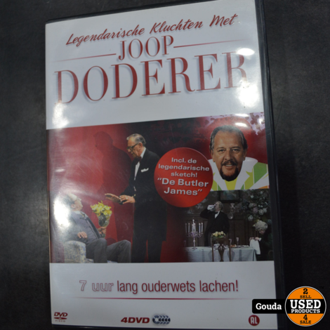 Dvd box Joop Doderer legendarische kluchten