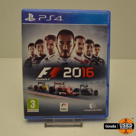 PS4 game F1 2016 Formula 1