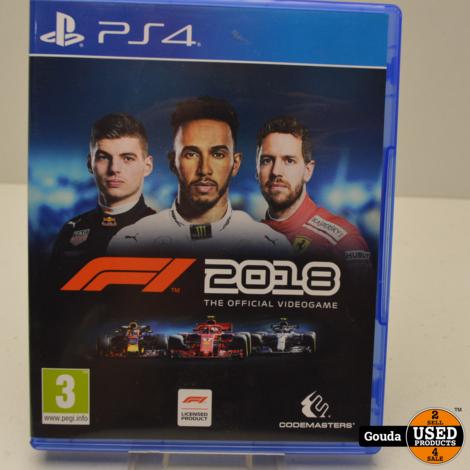 Playstation 4 game F1 2018 Formula 1