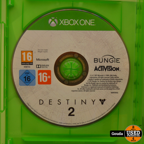 Xbox One game Destiny 2