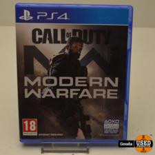 Playstation 4 game C.O.D Modern Warfare