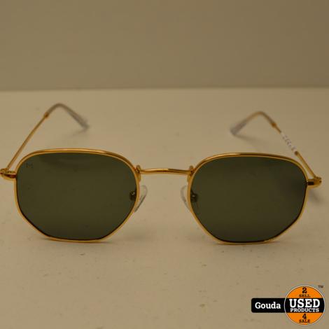 Meller Eyasi Gold Carbon Dames zonnebril Polarized Gold NIEUW in etui en doosje