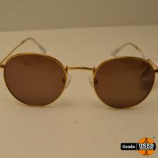 Meller Yster Gold Carbon Dames zonnebril Gold Polarized NIEUW in etui en doosje