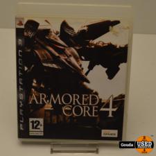 PS3 game Armored Core 4 met boekje