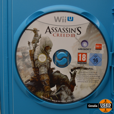 Wii U game Assassin's Creed III