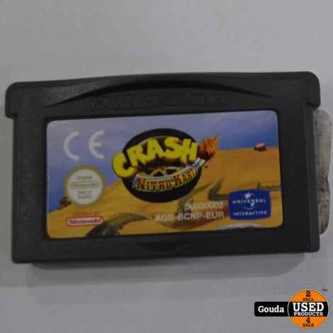 Gameboy advance game Crash nitro kart