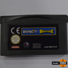 Gameboy advance game Paperboy rampage