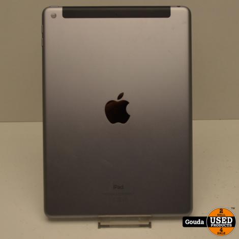 Apple iPad 6th Generatie 32 GB Space Grey Wifi en cellular in doos met oplader