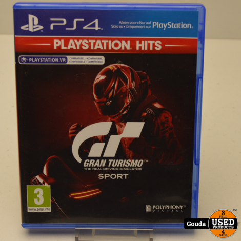 PS4 spel Gran Turismo Sport