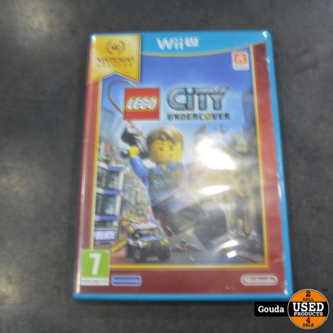 Wiiu game Lego city undercover