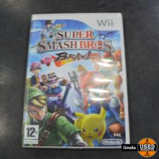 Wii game smash bros brawl