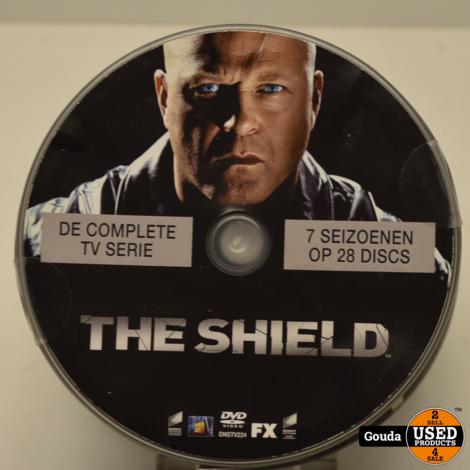 DVD serie The Shield 7 seizoenen op 28 disc's de complete TV serie DVD's op spindel NL ondertiteld