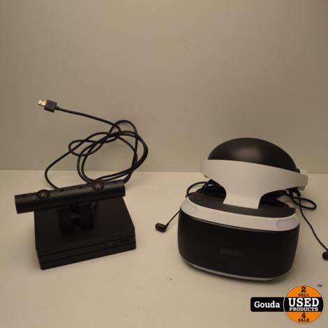 Playstation 4 VR set compleet met bril,oortjes, camera en kabelset