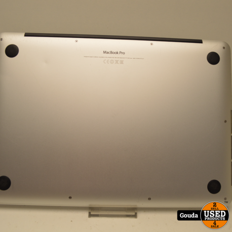 Apple Macbook Pro Retina i5 2.4 GHZ 1 TB SSD 13 Inch Late 2013 met oplader