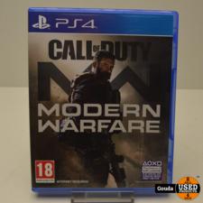 PS4 game C.o.D. Modern Warfare