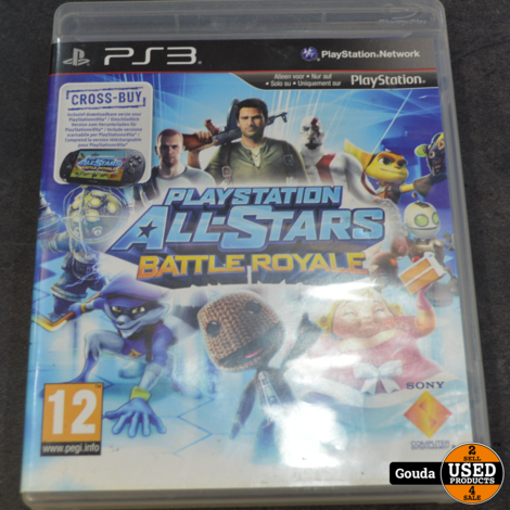 Ps3 game Playstation all stars battle royal