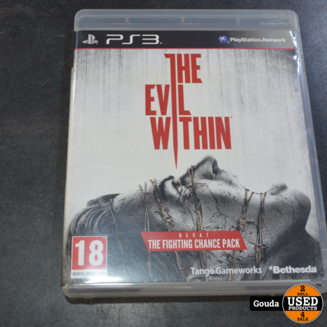 Ps3 game The evil within limited edition
