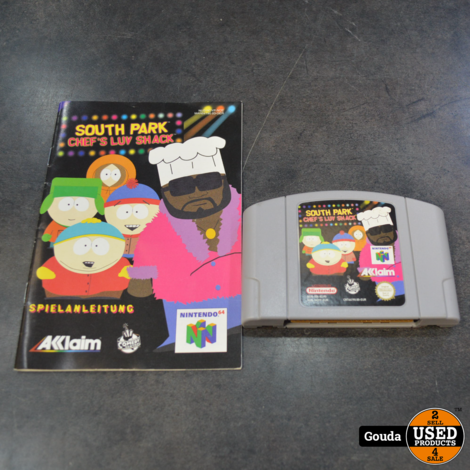 Nintendo 64 game south park