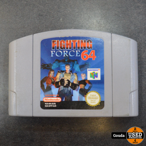 nintendo 64 game Fighting force
