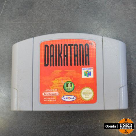 Nintendo 64 game Daikatana