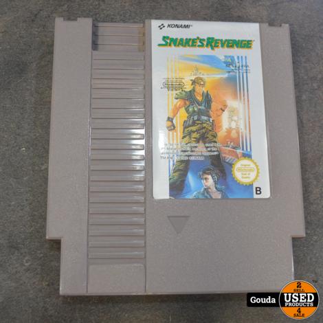 Nintendo nes game Snake revenge