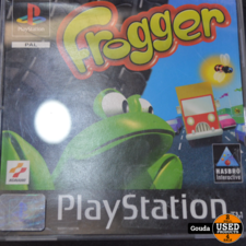 Playstation 1 game Frogger