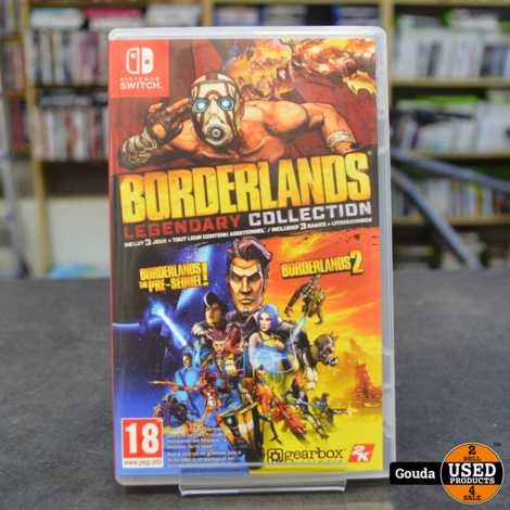 Nintendo Switch game Borderlands Legendary Collection