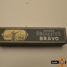 Hohner Orchester Bravo C Mondharmonica in origineel doosje