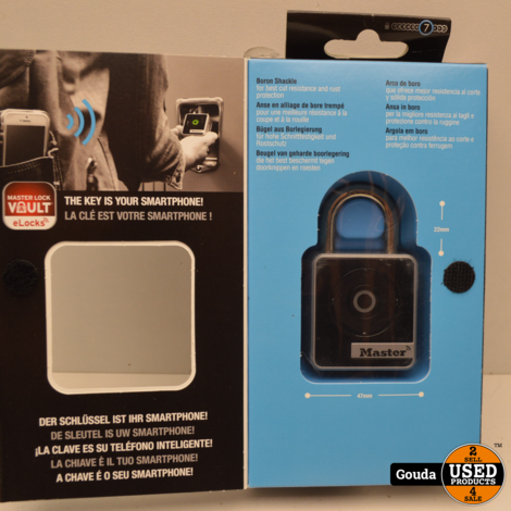 Master Lock Smart 4400D INDOOR Hangslot Bluetooth NIEUW in doos