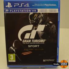 Playstation 4 game Gran Turismo Sport