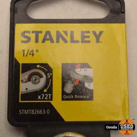 Stanley STMT82663-0 RATEL 1/4 Inch 72T NIEUW
