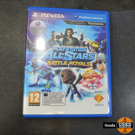 PSVita game Playstation All stars