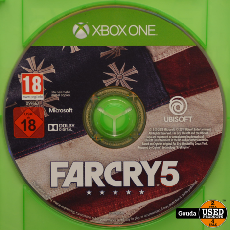 Xbox One game Farcry 5