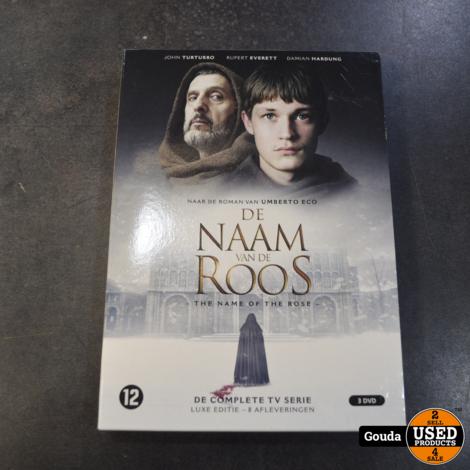 dvd box de naam van de roos