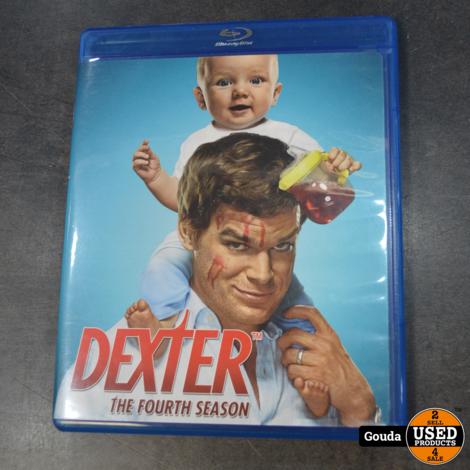 Bluray box Dexter seizoen 4  Alleen Engelse ondertiteling