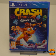 PS4 game Crash Bandicoot 4 It's About Time NIEUW in seal