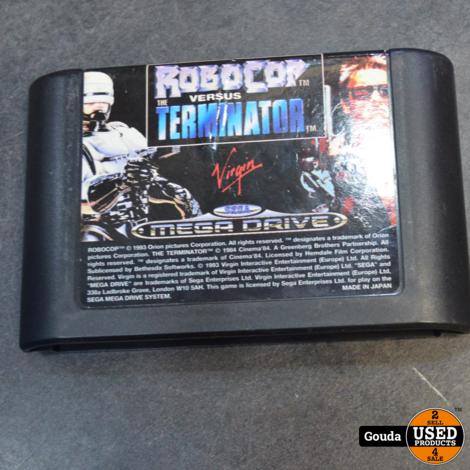 Sega mega drive game robocop vs terminator